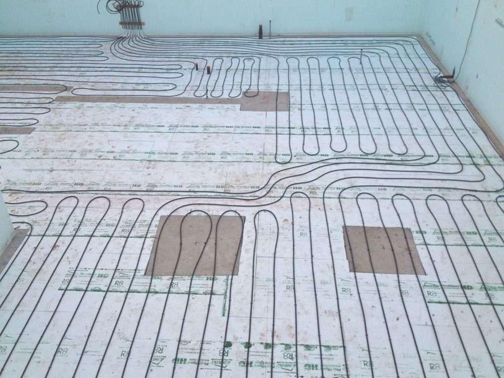 Radiant Heating Systems - Lockington Homes